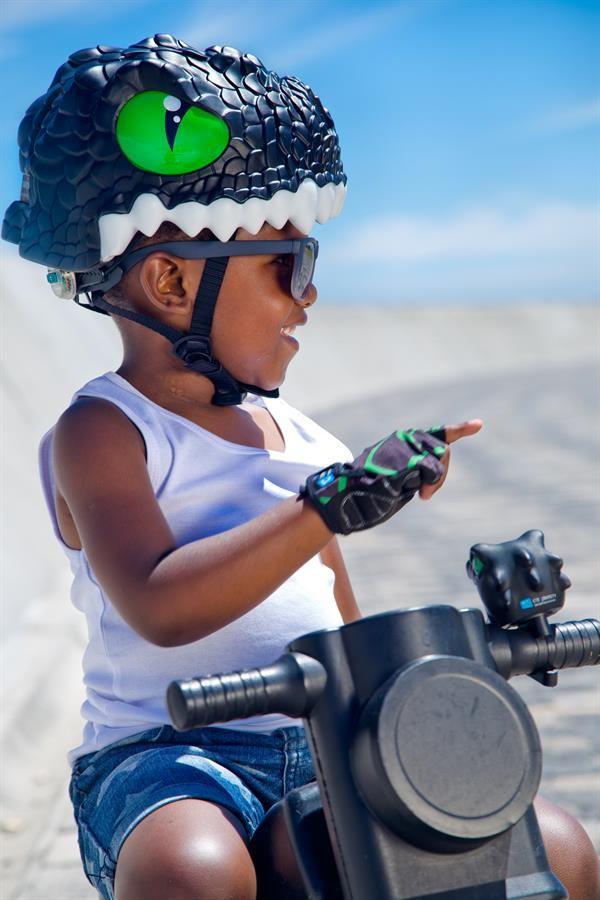 Găng tay rồng đen Crazy Safety - Găng tay xe đạp cao cấp an toàn cho trẻ em