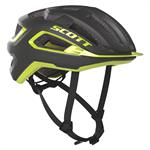 Scott Arx Plus (Mips) Sykkelhjelm Dark Grey Radium Yellow